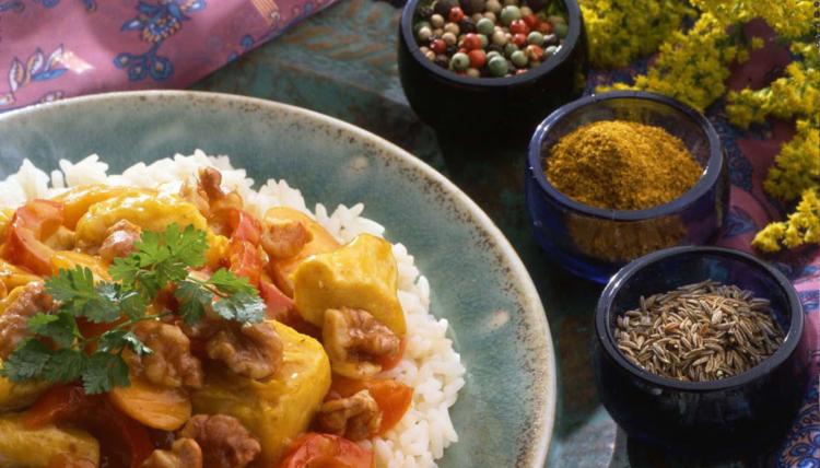 Indische Gewürzvielfalt: Chicken Curry