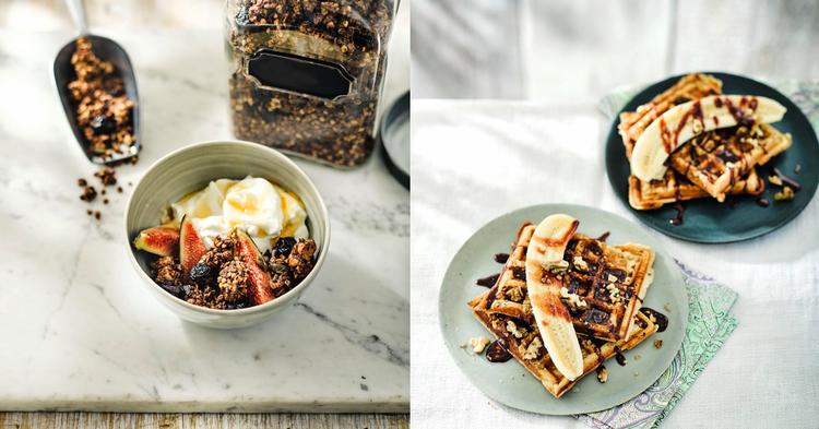 Frühstück –morgens, mittags & abends