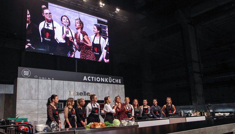 Actionküche auf der Berlin Food Week
