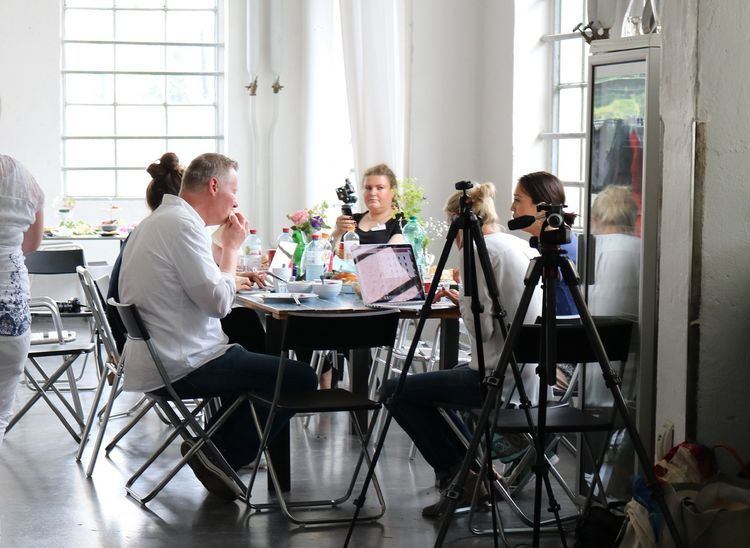 Location des Food-Fotografie Workshops in Frankfurt