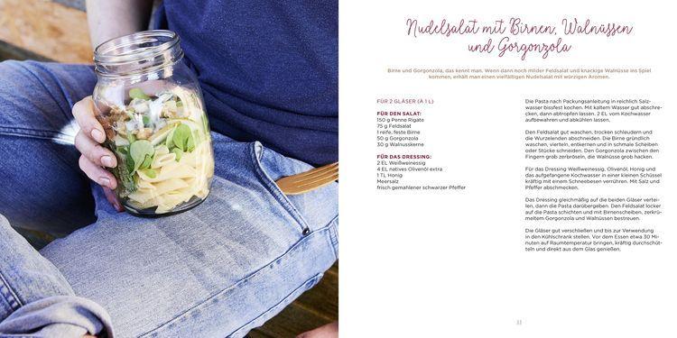 Nudelsalat mit Birnen und Walnüssen von Maja Nett