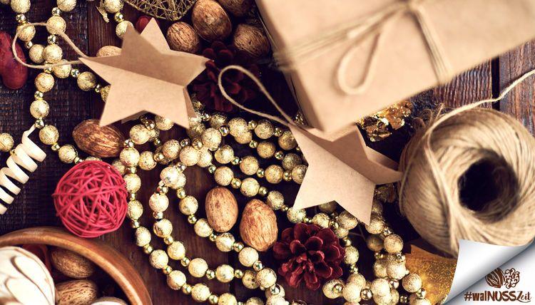 Walnusszeit - Weihnachtsdeko mit kalifornischem Flair