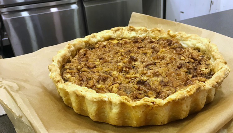Walnut Pie auf der Fi Europe