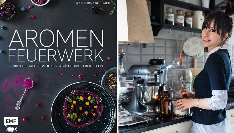 Buchcover Aromenfeuerwerk & Katharina Küllmer