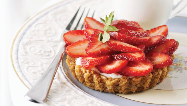 Ein Sommertagstraum - Sommerliebe pur: Erdbeeren & Walnüsse