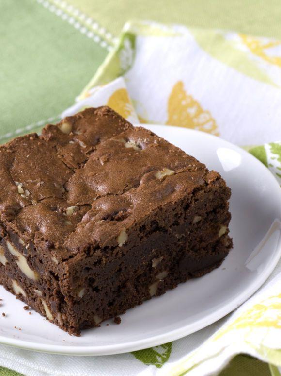 schokoladen walnuss brownies. Black Bedroom Furniture Sets. Home Design Ideas