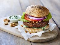 Kalifornischer Walnuss - Omega Burger